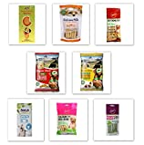 Goofy Tails Veg Dog Treat Combo of 8