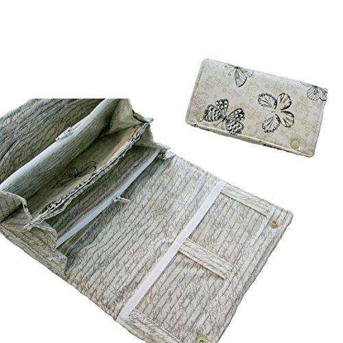 Atelier miamia Portefeuille Portefeuille pour femme femmes portemonee Femme fabriqué à la main pièce unique