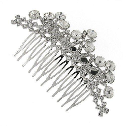 Vintage Swarovski Crystal Treasure Bridal Hair Comb Clip by Bridal Wedding Accessories.co.uk