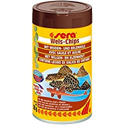 Sera Alimento para Peces Wels Chips Gr. 38 – Alimentos Peces