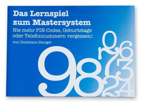 Das Lernspiel zum Mastersystem - Merken Lernen. Gedächtnistraining mit Christiane Stenger
