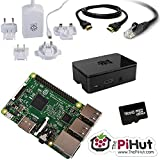 ThePiHut 16GB Raspberry Pi 3 Starter/Media Centre Kit. (Python, Kodi, Minecraft, Scratch and more)