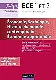 ece 1 et 2 economie sociologie histoire du monde contemporain j int?gre