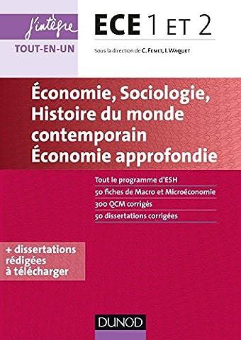 Alain Nicolas - ECE 1 ET 2 - Economie, Sociologie,