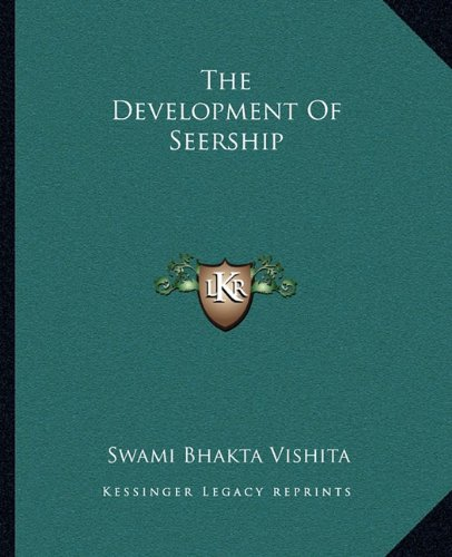 The Development of Seership