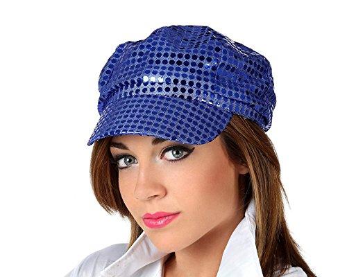 Gorra disco azul - L