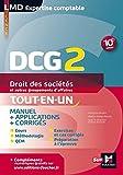 DCG 2 - Droit des sociétés et autres groupements d'affaires - Manuel et applications - 10e édition (LMD collection Expertise comptable)