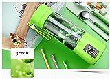 AN-LKYIQI USB Home Portable Fruit Juice Cup Tazza di vetro di spremuta elettrica Mini Juicer Juicer macchina , light green