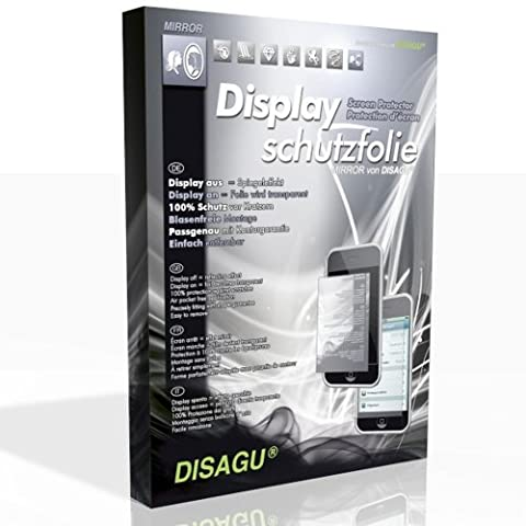 DISAGU Spiegel-Folie Displayschutzfolie für Thomson Lyra EM2801 / EM2802 / EM2804