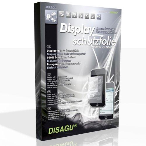 DISAGU Spiegel-Folie Displayschutzfolie für Samsung SGH-F488 TouchWiz