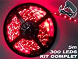 Complete Kit Professional Flexible LED Ribbon 5 M/60 LED M-Colour: Red - 3528