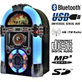 Heiku-Sport Musikbox Legend 501 - Gramola multimedia (Bluetooth, USB, SD, MP3, CD, radio)
