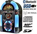 Jukebox Multimedia Musikbox Legend 501 Bluetooth, USB, SD, MP3 CD, Radio