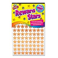900 x Reward Star Stickers Silver Gold Bronze Home School Teacher Good Work