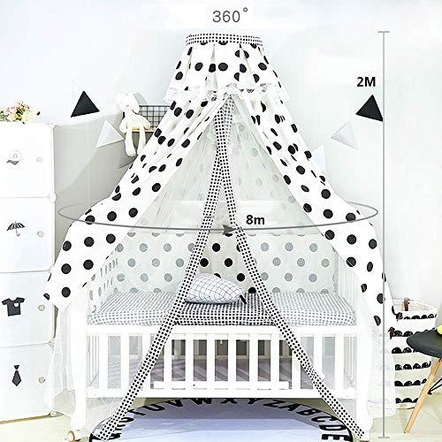 KJRJWZ Hängendes Moskitonetz for Babybett Kinder Twin Full Queen Size Bett Lace Dome Fairy Netting Vorhänge Kinder Spielen Zelt Reading Nook Castle Games House (Color : C)