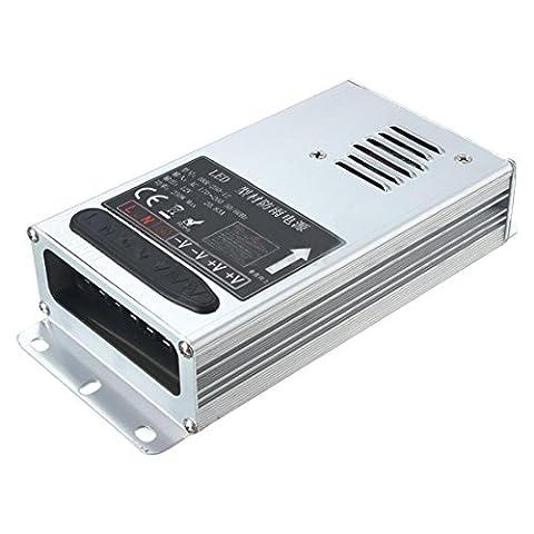 Transformateur - SODIAL(R)IP65 Alimentation AC 170V-260V A Transformateur LED 12V DC Tension d'alimentation Pilote de sortie: 12V