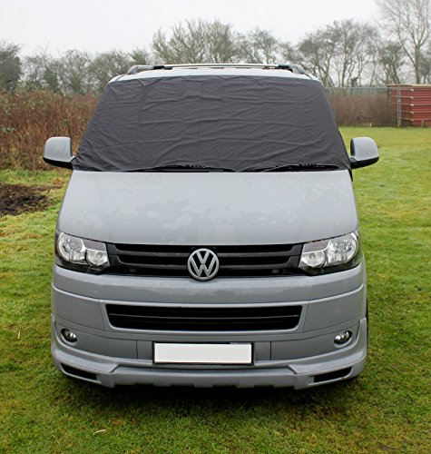 VW T5 Transporter Window Front Screen Curtain Wrap Cover Frost Protection Blinds (VW T5)