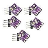 GY-BME280 Sensor de Alta Precisión Digital Breakout Temperatura de Presión Barométrica Tablero del Módulo de Humedad para Arduino Raspberry Pi DIY I2C SPI 5V(5PCS)
