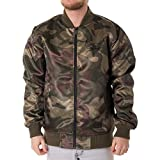 New Era Herren Jacken/Bomberjacke BNG Chicago Bulls Sateen Olive L