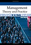By G.A. Cole - Management Theory and Practice (6th)
