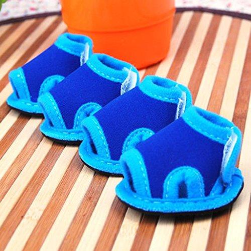 WSS Gatto dell'animale domestico impermeabile Sandali cane scarpe estate sandalo . b . 3