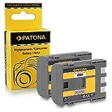2x Batteria NB-2L / BP-2L5 per Canon PowerShot S30 | S40 | S45 | S50 | S60 | S70 | S80 | G7 | G9 | EOS 350D | EOS 400D - Camcorder MV800 | MV830 | MV830i | MV850i e più... Legria HF R16 | HF R17 | HF R18 | HF R106