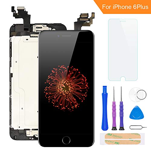 FLYLINKTECH Pantalla para iPhone 6 Plus 5.5 ''