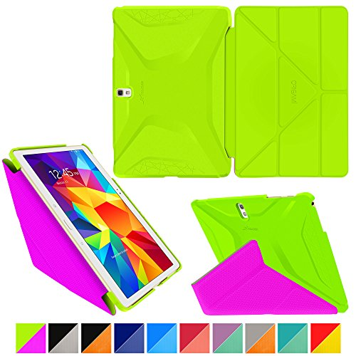 roocase-samsung-galaxy-tab-s-105-custodia-case-origami-3d-verde-electric-rosa-peach-ultra-sottile-sl