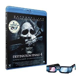 Destination finale 4 + 4 paires de lunettes 3D [Blu-ray] (B002XG8KYM) | Amazon price tracker / tracking, Amazon price history charts, Amazon price watches, Amazon price drop alerts
