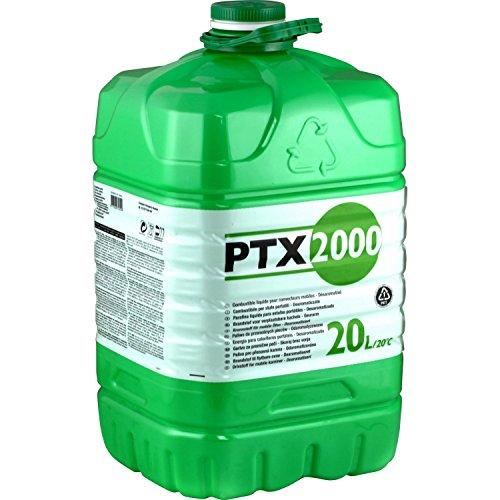 Zibro PTX 2000Combustible, bidon de 20l pour four à pétrole inodore
