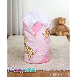 Schlafsack Comfort Wickeltuch/Decke für Neugeborene, 80x 80cm für Kinderwagen, Wiege, Krippe, Kinderbett