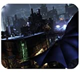 Batman Arkham City Mousepad Personalized Custom Mouse Pad Oblong Shaped In 9.84'X7.87' Gaming Mouse Pad/Mat