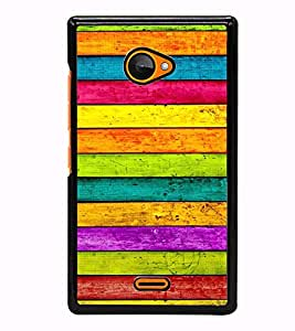 Fuson Designer Back Case Cover for Microsoft Lumia 540 Dual SIM (Lines Designer Art Artistic Shades)