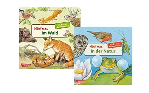 Hör mal: In der Natur (2 x Pappbilderbuch im Set) ()