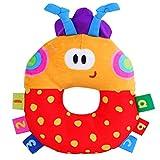 Die besten GENERIC Baby rattert - Mehrfarbenmarienkäfer Modell Glöckchen Rasseln Plüsch Rasseln Babyrasseln Spielzeug Bewertungen