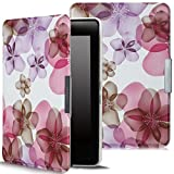 Kyпить MoKo Kindle Paperwhite Case, Premium Ultra Lightweight Shell Cover with Auto Wake / Sleep for Amazon All-New Kindle Paperwhite (Fits All 2012, 2013, 2015 and 2016 Versions), Flower Purple на Amazon.co.uk
