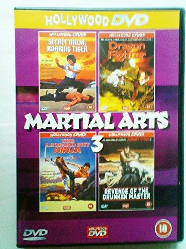 Bild von Secret Ninja Roaring Tiger, Dragon Fighter, The Leopard Fist Ninja, Revenge of the Drunken Master DVD