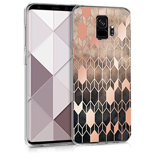 kwmobile Samsung Galaxy S9 Hülle - Handyhülle für Samsung Galaxy S9 - Handy Case in Pink Rosegold