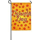 Starogs Gartenflagge – Custom Kanada Day Orange Leaves