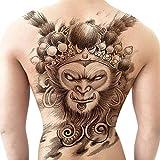 3 Unids-nuevo pegatinas de tatuaje con respaldo completo Phoenix foto grande pegatinas de tatuaje hombres y mujeres impermeables tatuajes de simulación duraderos tatuaje con respaldo completo 30