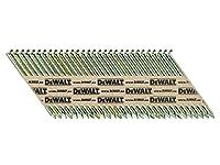 DeWalt DT99628PG-QZ 34 Degré Lot de 2200 PT-Clous 2,8 x 63 mm lisse galvanisée
