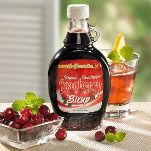 Paul Schrader & Co. - Cranberry-Sirup aus Kanada - 250ml