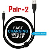 Voltac USB To Micro USB Cable Data Cable For Mobiles (Assorted Color) Model 425231