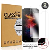 [2 Pack] Owbb Pellicola Vetro Temperato Per UMIDIGI Diamond X / Diamond, Glass Screen Pellicola Protettiva 9H Durezza 99% Alta trasparente 0.26mm 3D Touch Compatibile Per UMI Diamond X