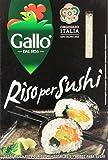 Gallo - Riso per Sushi - 2 confezioni da 500 g [100 g]
