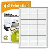 Kleine Adressetiketten 2100 Stück 63 x 39,5 mm Etiketten weiß - 100 A4 Blätter 3x7 63x39,5 C6 - Adressaufkleber L7160 JAC 6339