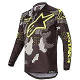 Alpinestars Tactical Racer Motocross Jersey Grau/Schwarz/Gelb M