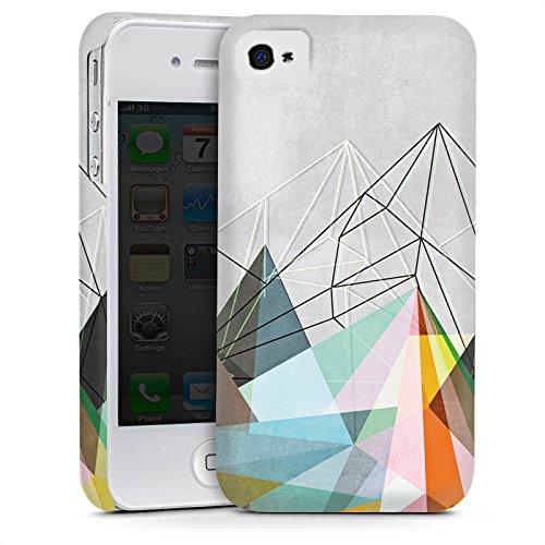 Apple iPhone 6 Housse Étui Silicone Coque Protection Triangles Triangles Triangles Cas Premium mat