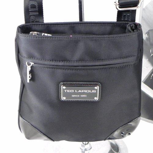 "Bolsa de hombro ""Ted Lapidus"" negro."