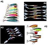 bntteam 25pcs/lot Juego de señuelos de pesca cebos manivela Mini Crankbait 3d ojo de pez artificial señuelo realista cebo con plumas siumlation falsa Lure